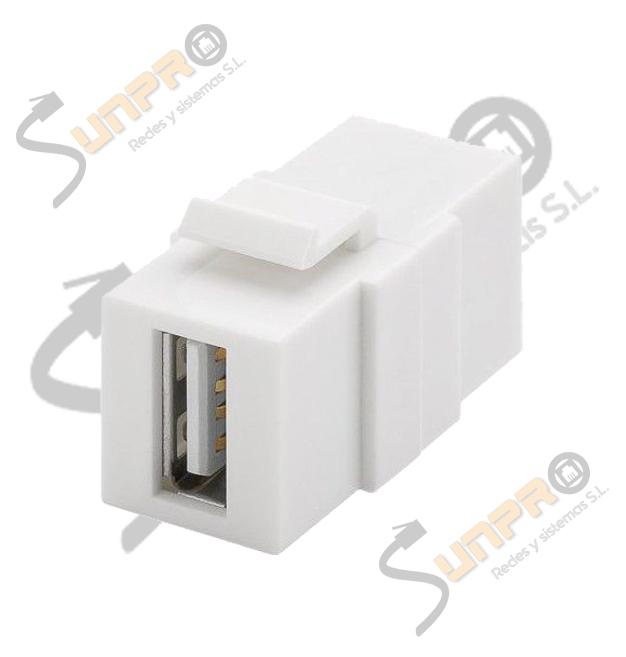 Adaptador Keystone 2.0 USB A/A H/H