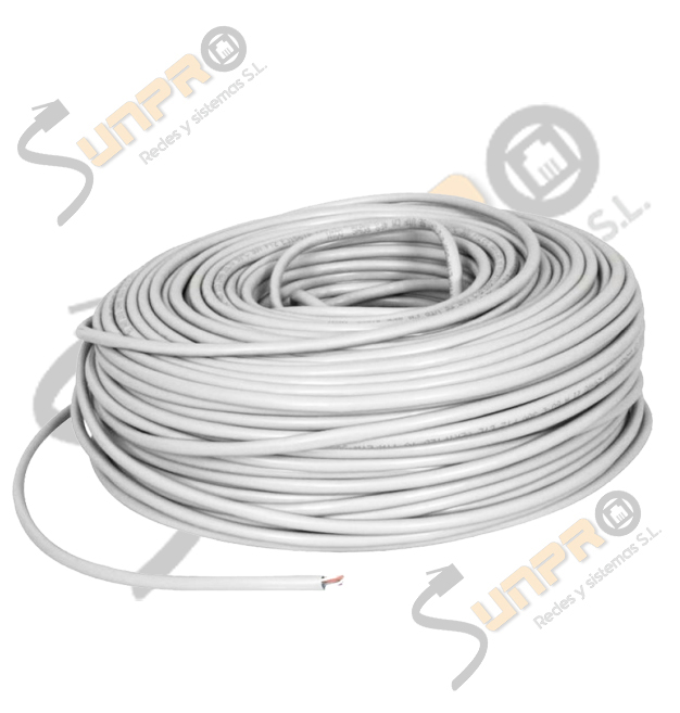 Cable Cat. 6 UTP rígido 305m.